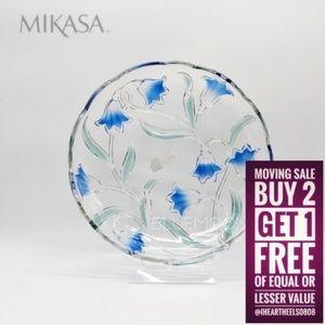 MIKASA Large Crystal Serving Platter Tray NWT